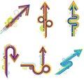 Creative arrow Royalty Free Stock Photo