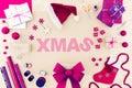 Creative christmas word