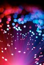 Abstract Optic Fiber Pink and Blue Technology Concept Background Royalty Free Stock Photo