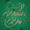 Creative design for st patricks day illustration Stock Photo