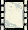 Creative Design of Vintage Grunge Film Strip Royalty Free Stock Image