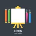 Creative Flat Illustration Of ...