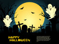 Creative halloween background Stock Photo