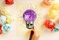 Creative idea Royalty Free Stock Photo