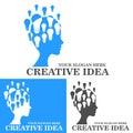 Creative idea logo