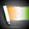Creative Indian Flag background Stock Photography