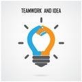 Creative Light Bulb Idea And H...