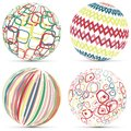 Creative Retro Geometric Sphere Logo Template