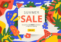 Creative summer promotion social media web banner. Artistic brig