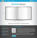 Creative web site design template Stock Image