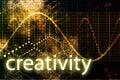 Creativity Abstract Technology Royalty Free Stock Photo