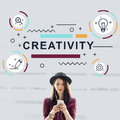 Creativity Ideas Design Invention Graphic Concept Royalty Free Stock Photo