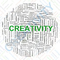 Creativity tags Stock Image