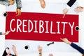 Credibility Partnership Determination Inspiration Concept Royalty Free Stock Photo