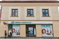 Credit Agricole bank in Rzeszow, Poland.