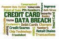 Credit Card Data Breach Royalty Free Stock Photo