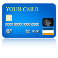 Credit Card Illustration Stock Images