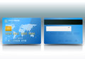Credit Card Sample Stock Image