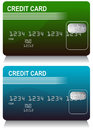 Credit Card Set Stock Image