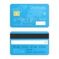 Credit card vector.