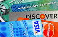 Credit Cards Royalty Free Stock Photos