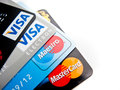 Credit cards choice Royalty Free Stock Photo