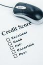 Credit Score Royalty Free Stock Photos
