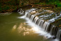 Creek cascade Royalty Free Stock Photography