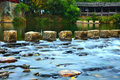 Creek detail in qinghua zhen wuyuan china the the Stock Photography