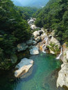 Creek lushan mountain Royalty Free Stock Photography