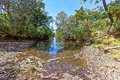 Creek in outback western australia the northern kimberley region of Stock Image