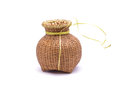 Creel the is made from bamboo weave Royalty Free Stock Photo