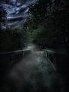 Creepy path london Royalty Free Stock Image