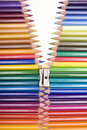 Cremallera del color Imágenes de archivo libres de regalías