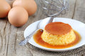Creme caramel Royalty Free Stock Photo