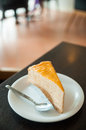 Crepe cake is sold in coffee shops Stock Photos