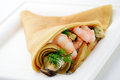 Crepe With Sea Food