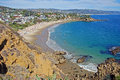 Crescent Bay, Laguna Beach, California Stock Photos