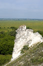 Cretaceous rocks in divnogorie russia Stock Photos