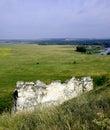 Cretaceous rocks in divnogorie russia Royalty Free Stock Photography