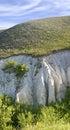 Cretaceous rocks in divnogorie russia Stock Photography