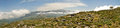 Cretan Mountains Panorama Royalty Free Stock Photo
