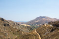 The Cretan mountains. Royalty Free Stock Photo