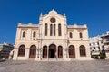 CRETE,HERAKLION-JULY 25: The Agios Minas Cathedral on July 25 in Heraklion on Crete island, Greece. Royalty Free Stock Photo