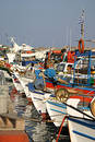 Crete / Port of Ierapetra Royalty Free Stock Photo