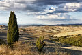 Crete Senesi Landscape Royalty Free Stock Photography