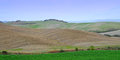 Crete senesi siennese clays tuscany italy europe Stock Photography