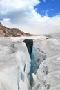 Crevasse Royalty Free Stock Photo
