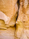 Crevice sandstone valley fire state park nevada Stock Photography