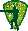 Cricket sports player australia Stock Images